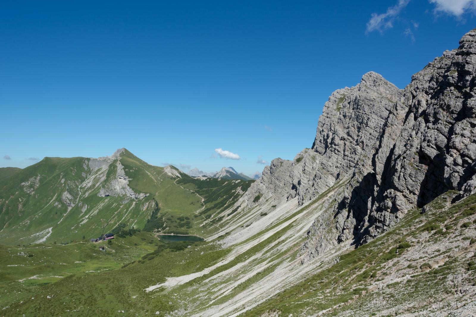 Klettersteig Quarzit Wand Burg Laudeck : News klettersteige