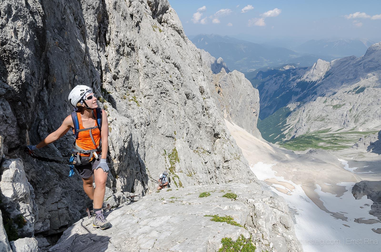 Klettersteig Zugspitze Höllental : Ein herbstprojekt u der höllental klettersteig zur zugspitze