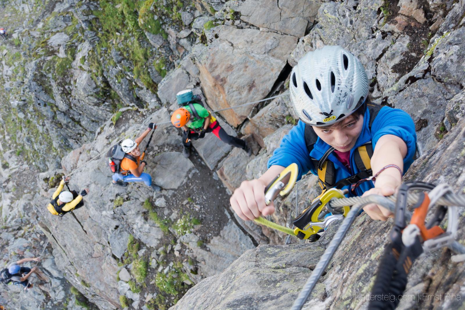 Klettersteigset Norm 2017 : Die neue klettersteignorm en klettersteige