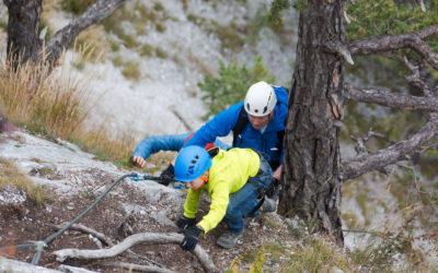2017-02-24 LEITE Klettersteig im Fasching