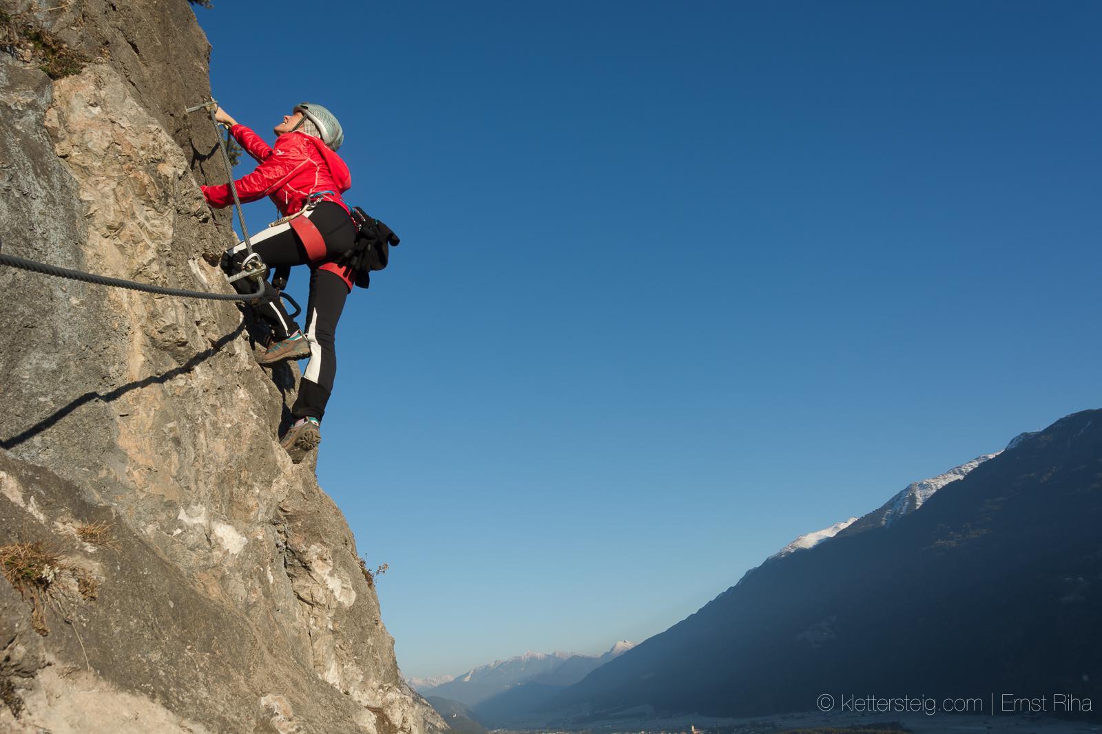 Klettersteig Geierwand : 3. dezember 2016 geierwand klettersteige