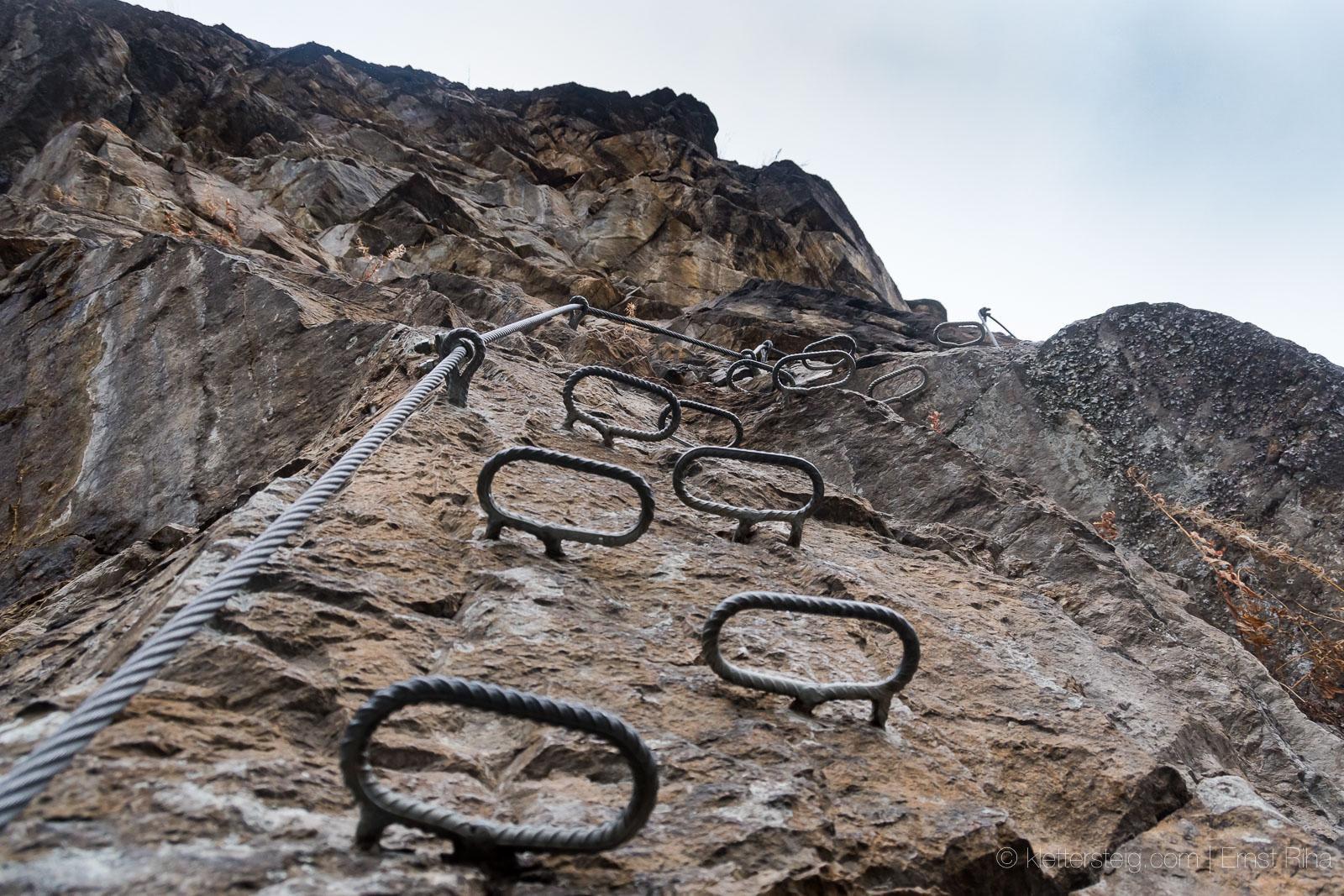 Klettersteig Stuibenfall : Jänner stuibenfall klettersteig klettersteige