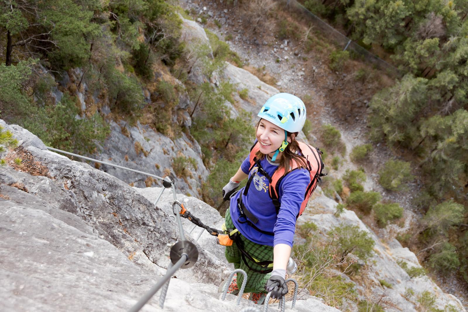 Klettersteig Zams : Kurze galugg runde klettersteige