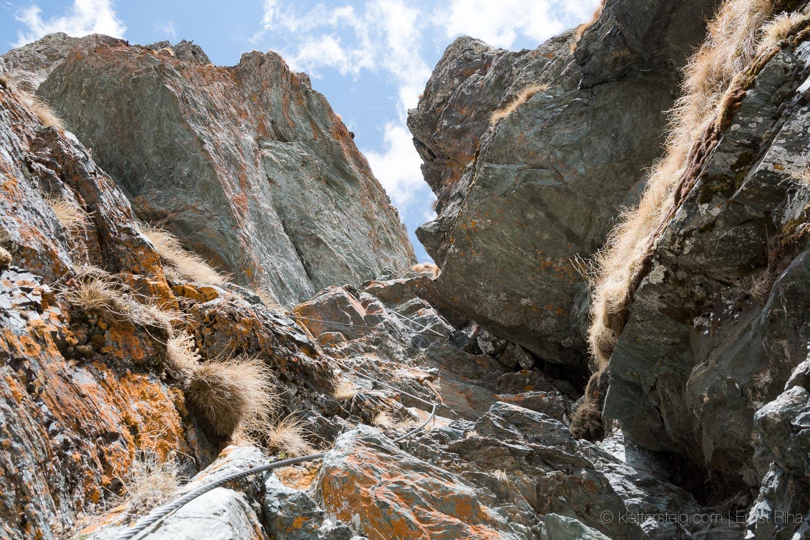 Klettersteig Falkert : Beginner klettersteig