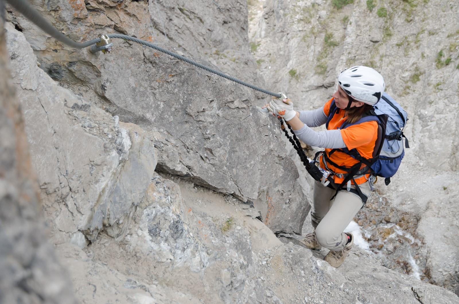 Klettersteigset Neue Norm : Die neue klettersteignorm en klettersteige