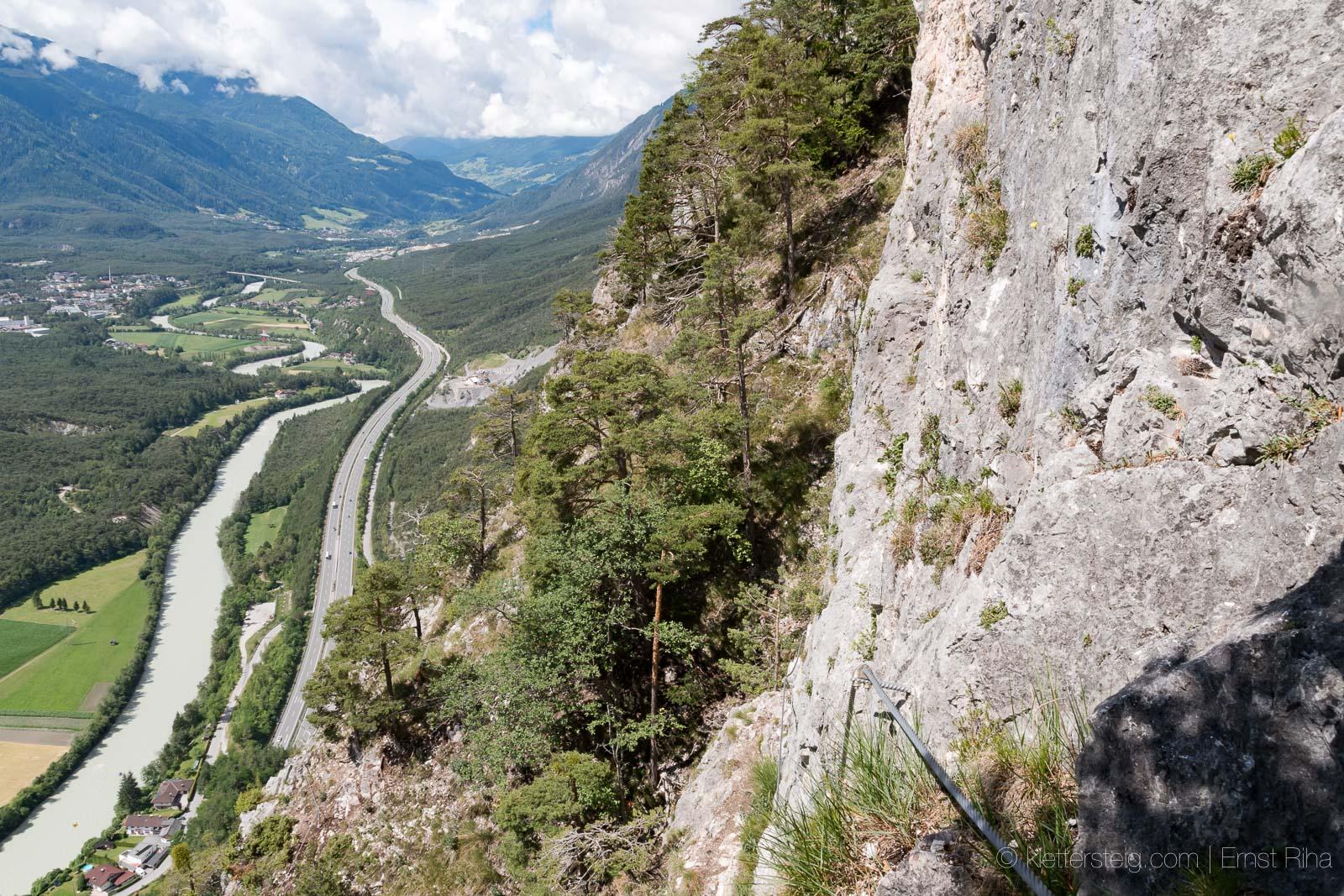 Klettersteig Geierwand : 1. juli geierwand klettersteige
