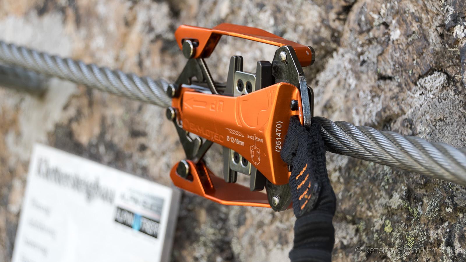 Klettersteig Set : Rückruf klettersteigset skylotec klettersteige