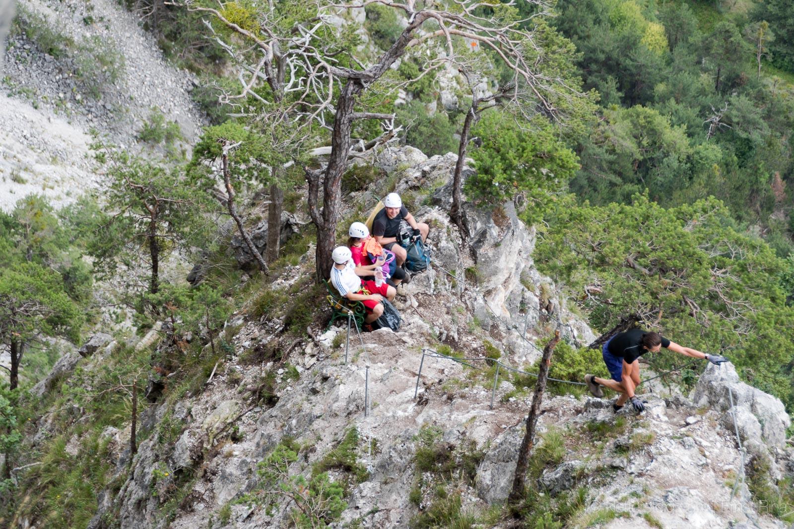 Klettersteig Geierwand : 8. juli 2017 geierwand klettersteig klettersteige