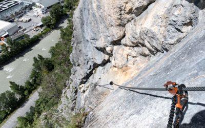 15. Juli 2017  Galugg Klettersteig
