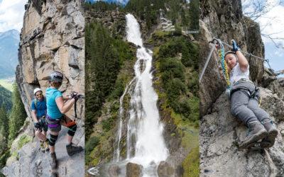 18.8.2017 Stuibenfall Klettersteig