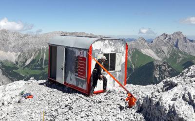 Sanierung (Karkopf) ADLER Klettersteig