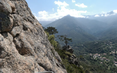 Klettersteige auf Korsika