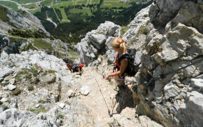 Rote Flüh | Friedberger Klettersteig