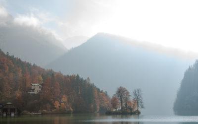 Herbst am Grünstein Klettersteig
