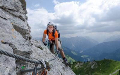 Südsporn Klettersteig Köllenspitze