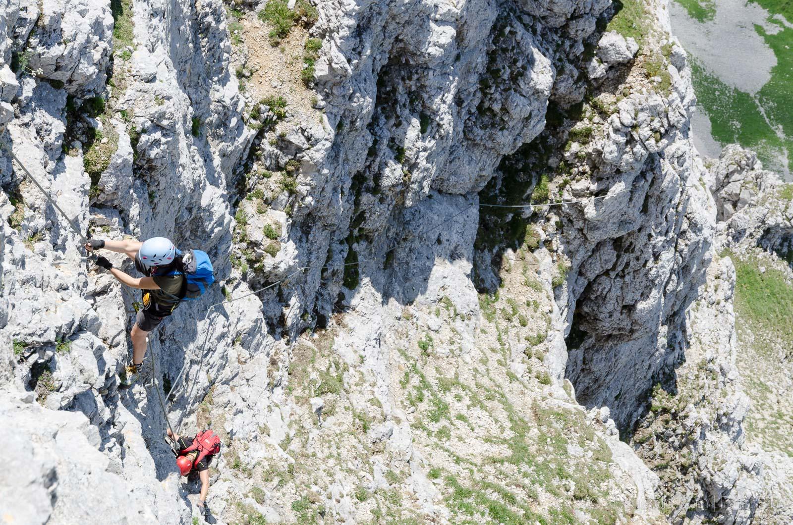 Klettersteig Köllenspitze : Südsporn klettersteig köllenspitze klettersteige