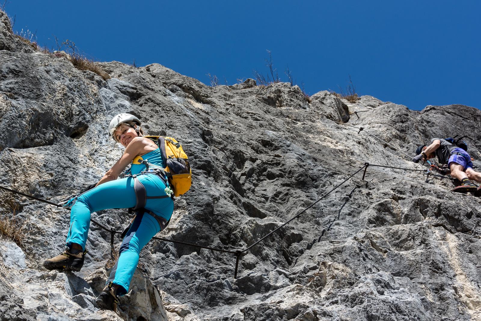 Klettersteig Am Ettaler Mandl : Tomosuper klettersteige