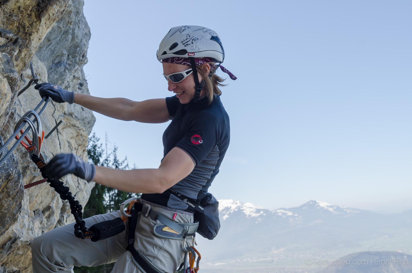 Klettersteig Via Kapf : Klettersteig via kessi kapf götzis vorarlberg youtube