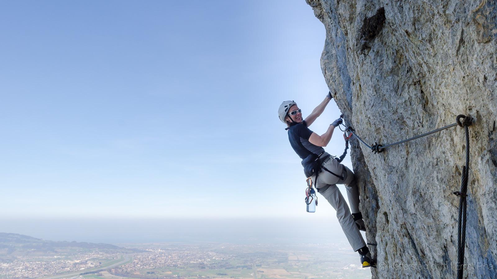 Klettersteig Via Kapf : Via kapf und kessi in götzis vorarlberg klettersteige