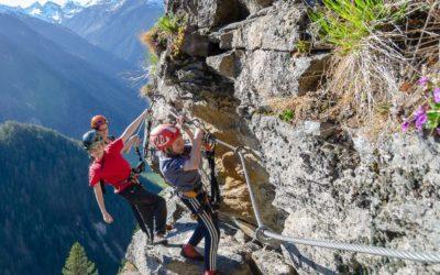 Stuibenfall Klettersteig | ideal für Familien