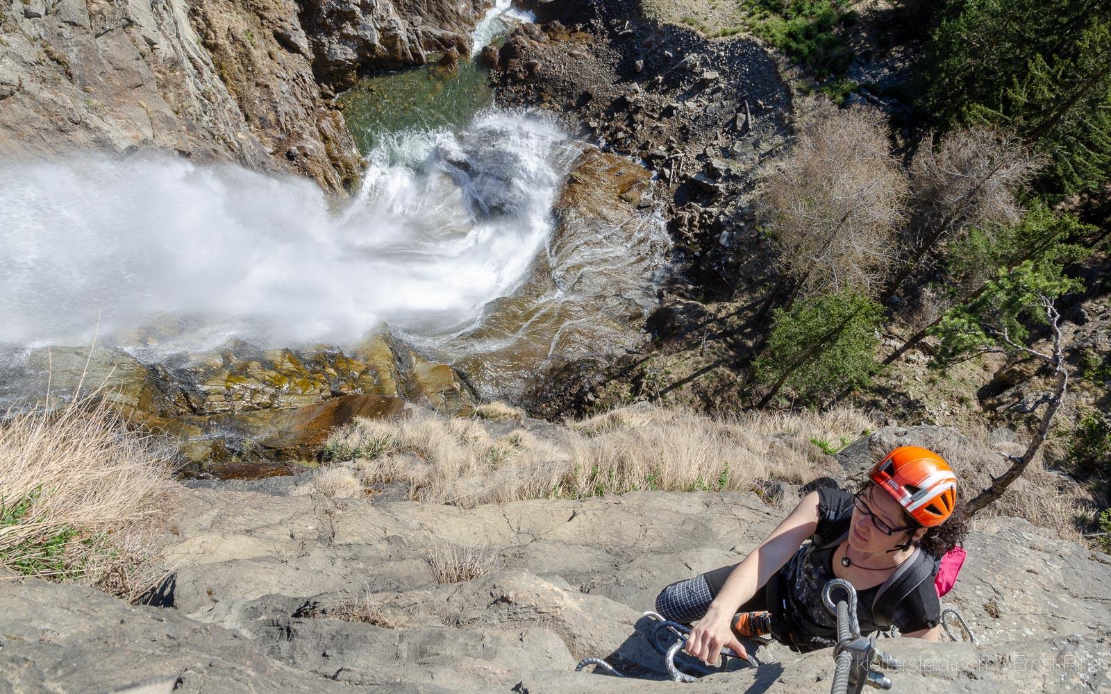 Klettersteig Zirbenwald : Ötztaler klettersteig vergnügen am laufenden band klettersteige