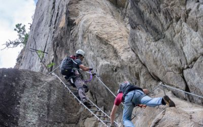 Hoachwool Klettersteig Naturns