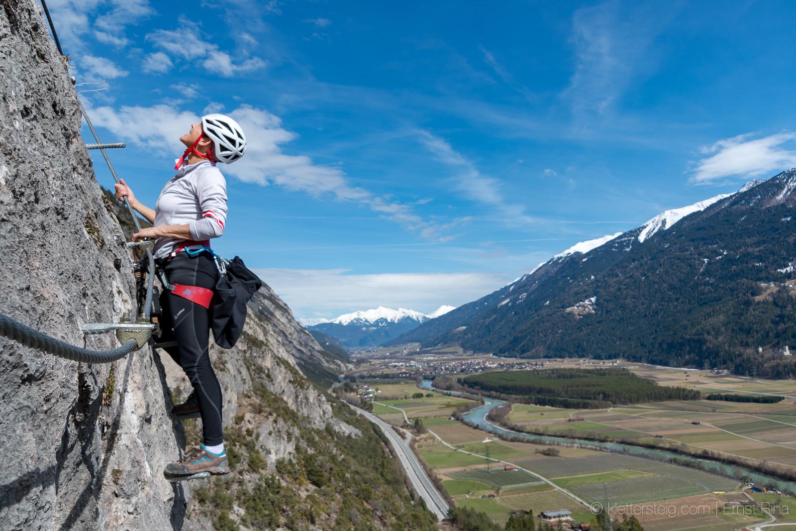 Klettersteig Geierwand : Geierwand nach dem frühjahrsputz klettersteige