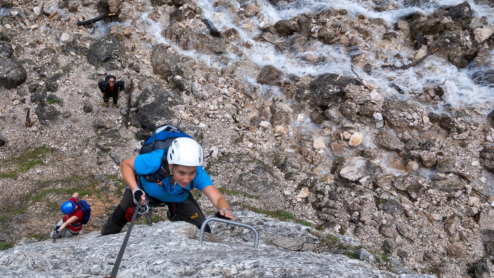 Klettersteig Ehrwald : Seebensee klettersteig klettersteige