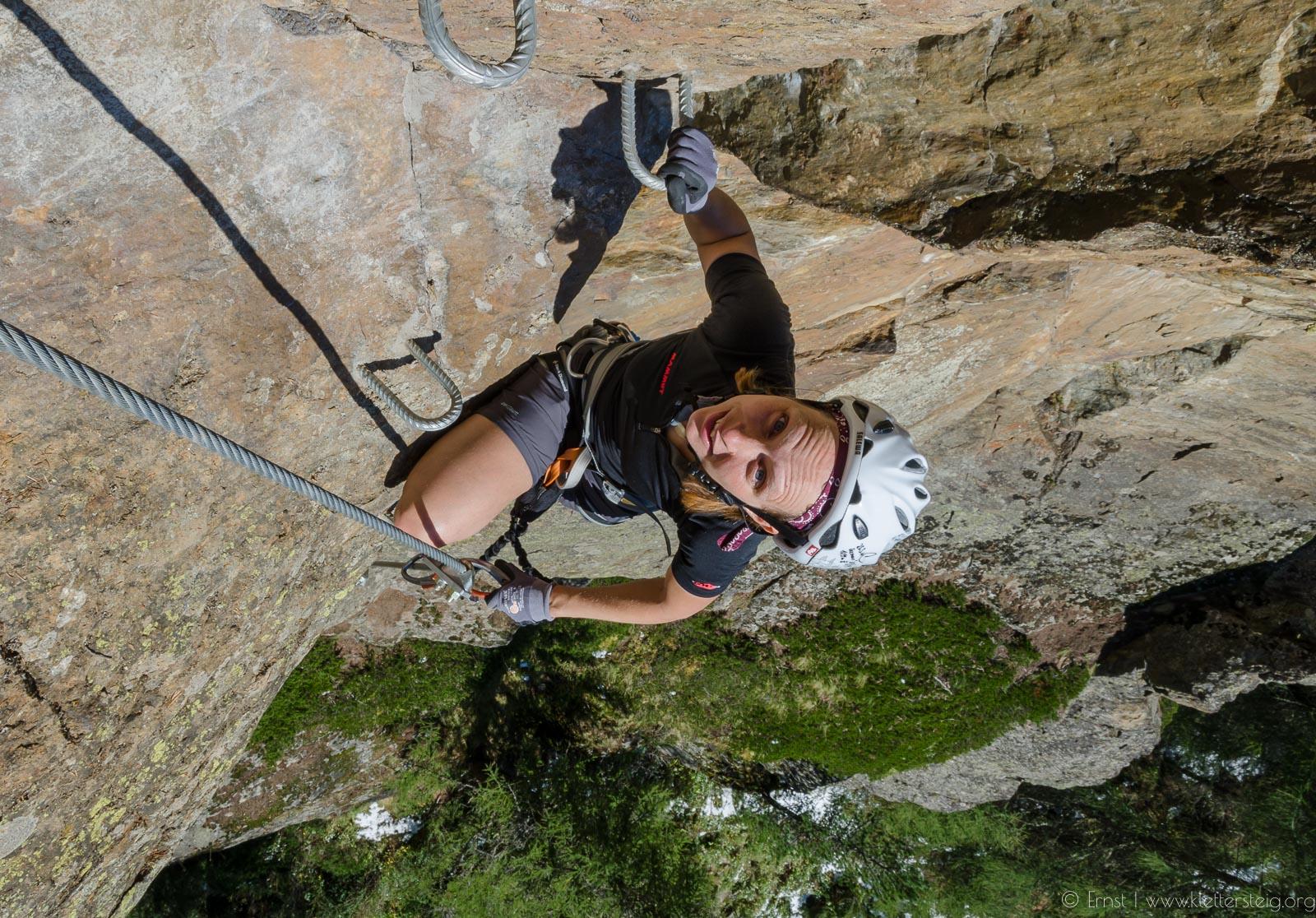 Klettersteig In English : Moosalm klettersteig sÖlden klettersteige