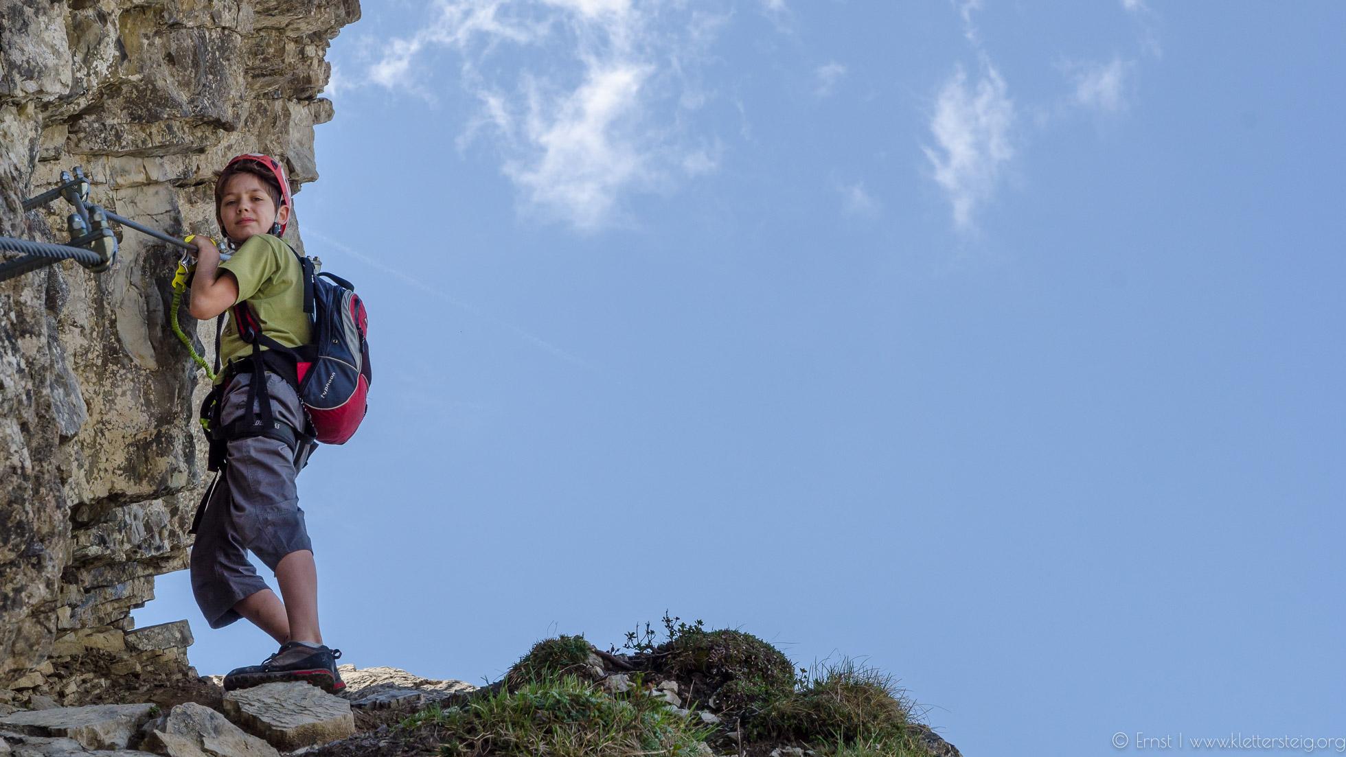 Klettersteig Oberjoch : Gipfeltouren klettersteige und urige hütten reisen