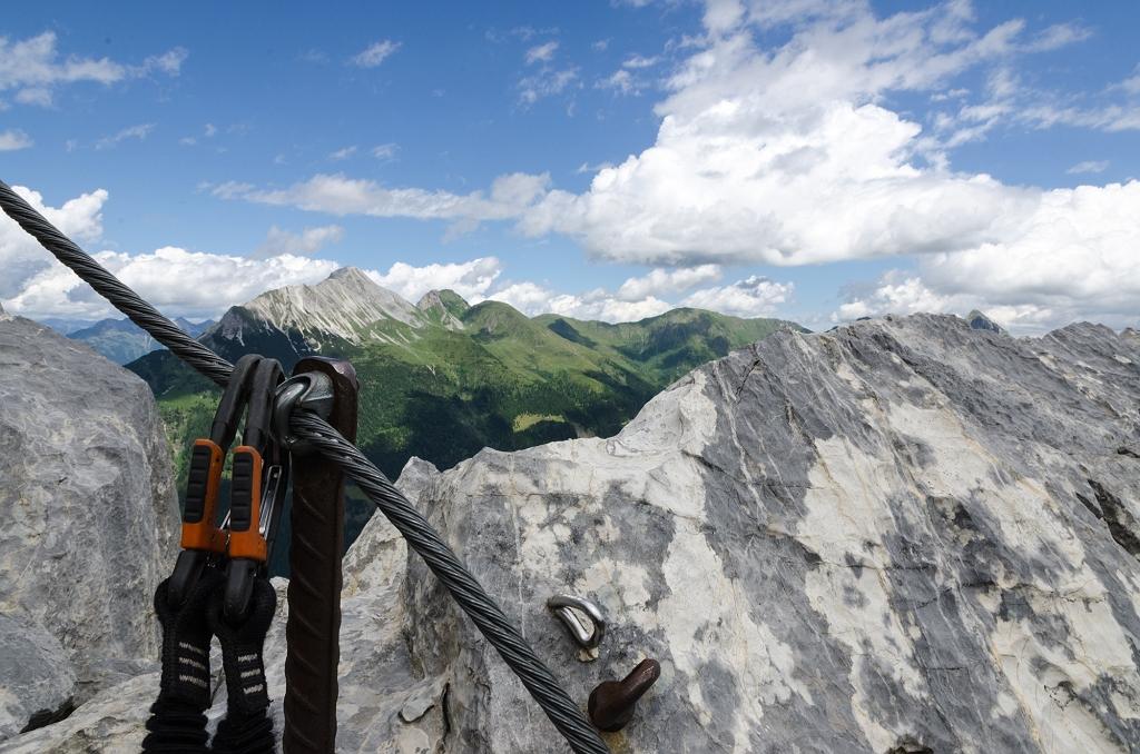 Klettersteig Kärnten : Fünf klettersteige in kärnten