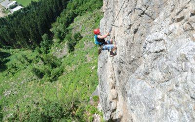 St Jodok Klettersteig : Klettersteige in den alpen