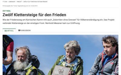 TT-Bericht | 12 Klettersteige für den Frieden