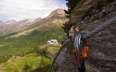 MURMELE Klettersteig bei der Zufallhütte