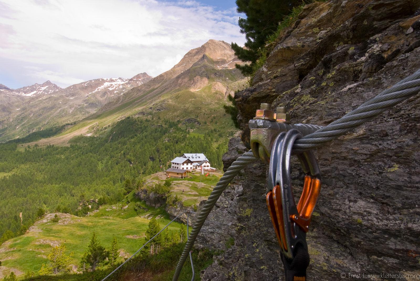 Klettersteig Croda Dei Toni : Murmele klettersteig bei der zufallhütte klettersteige