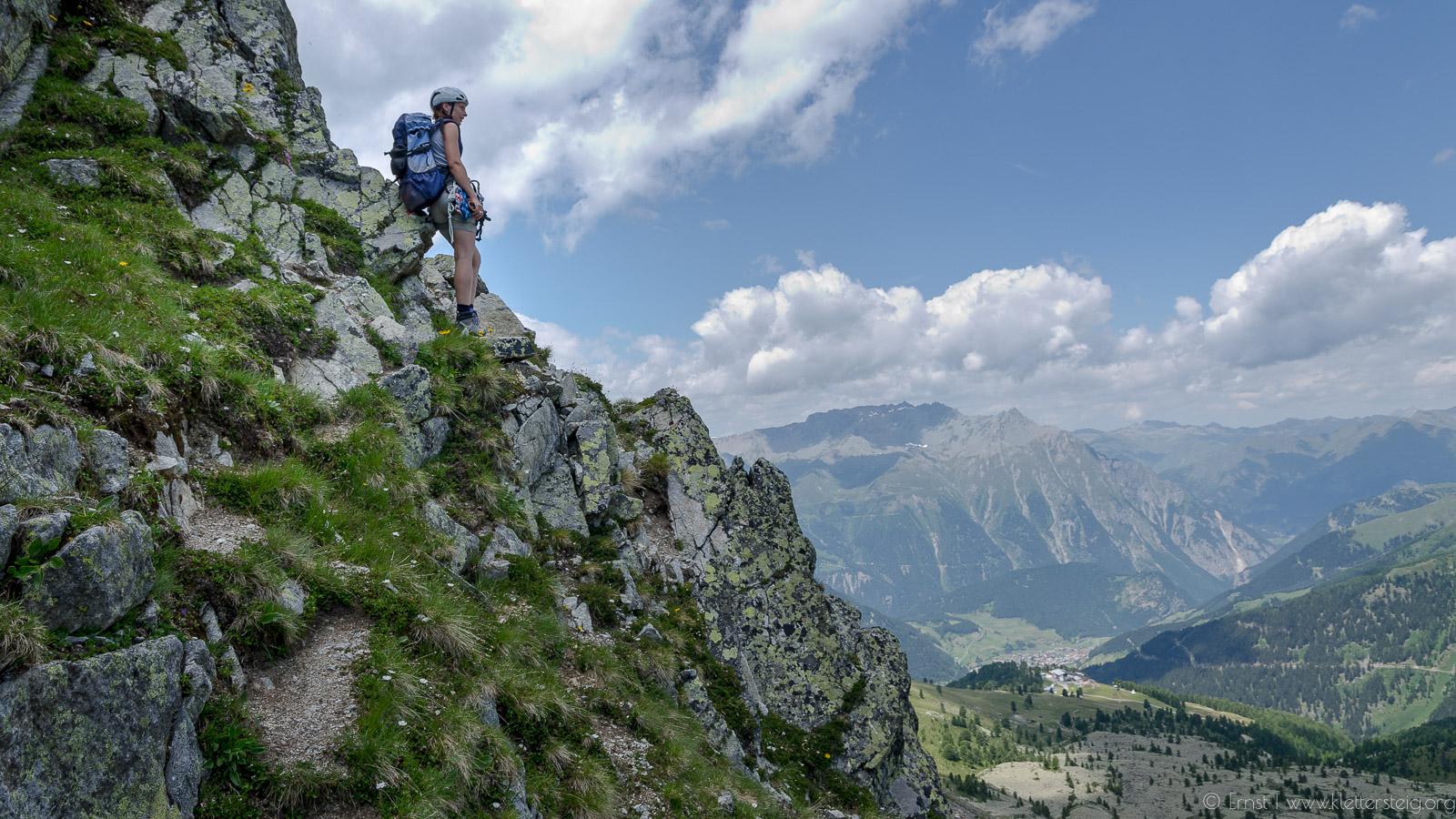 Klettersteig Nauders : Goldweg nauders klettersteige