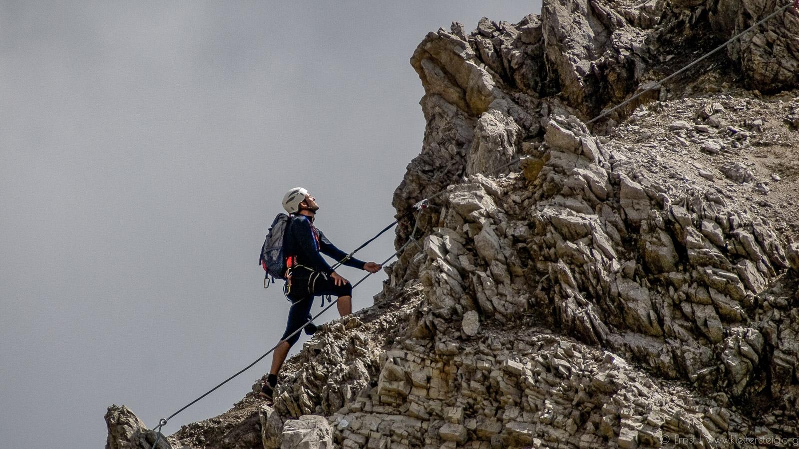 Klettersteig Wankspitze : Wank klettersteig klettersteige