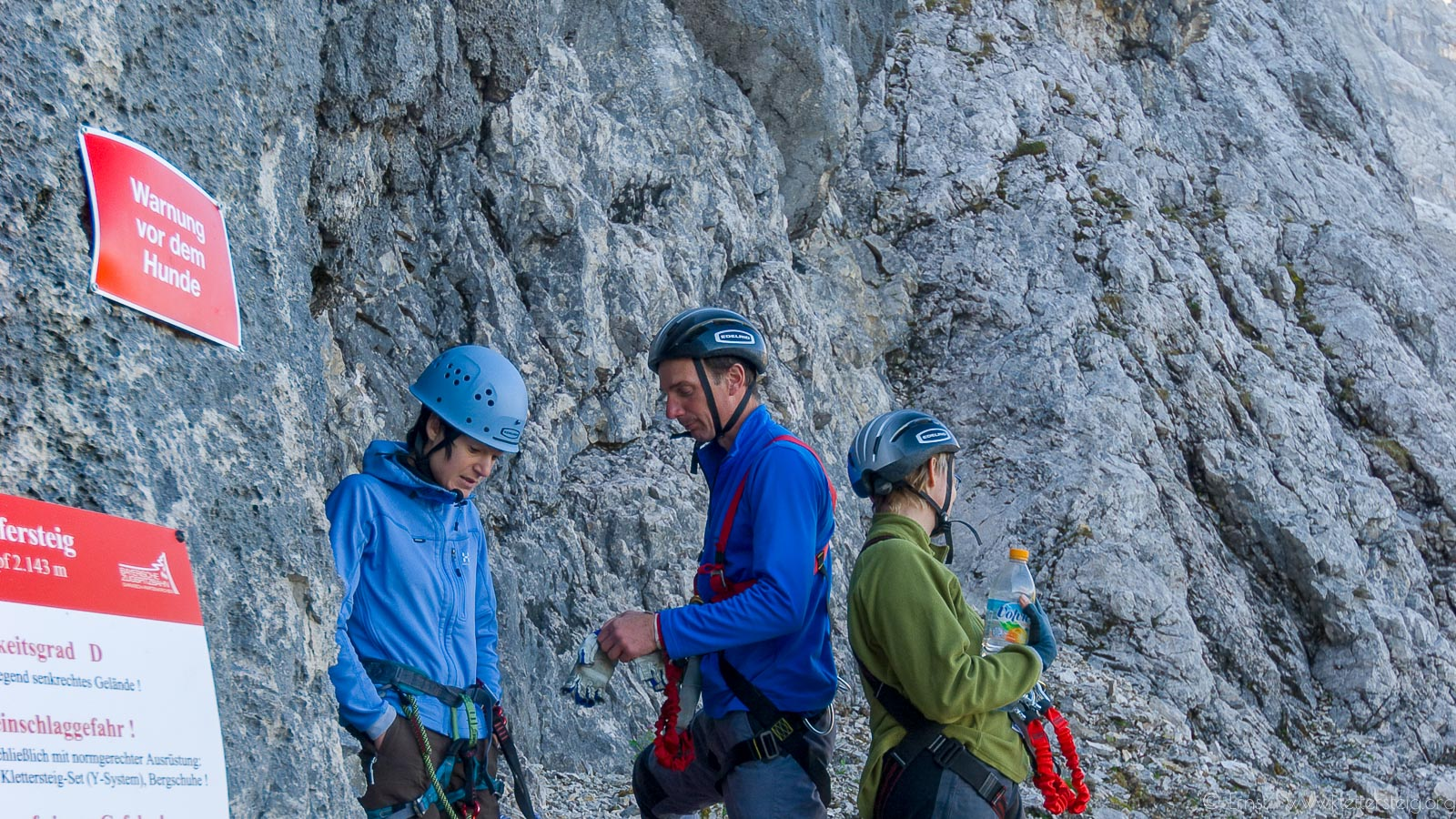 Klettersteig Y : Mauerläufer klettersteig klettersteige