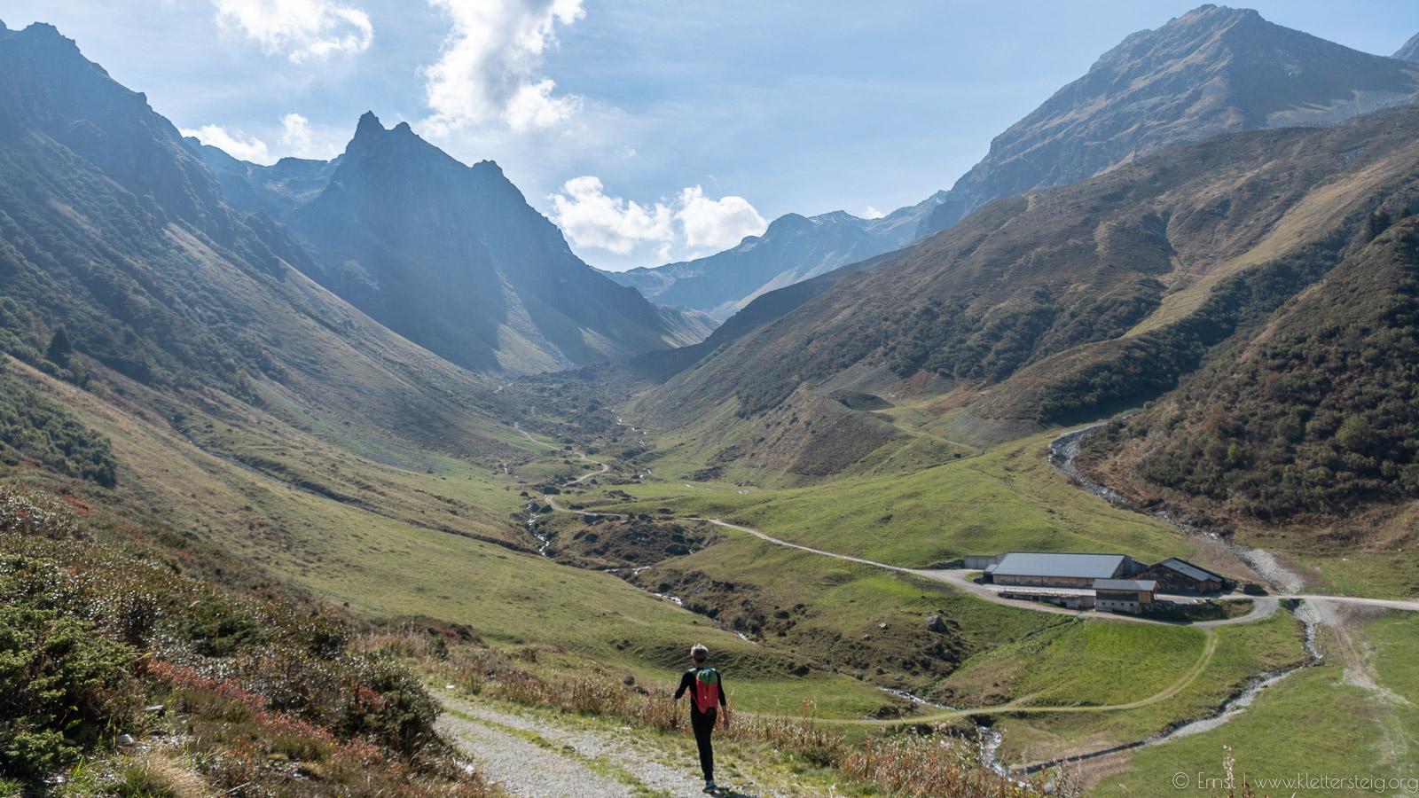 Klettersteig Madrisella : Madrisella klettersteig klettersteige