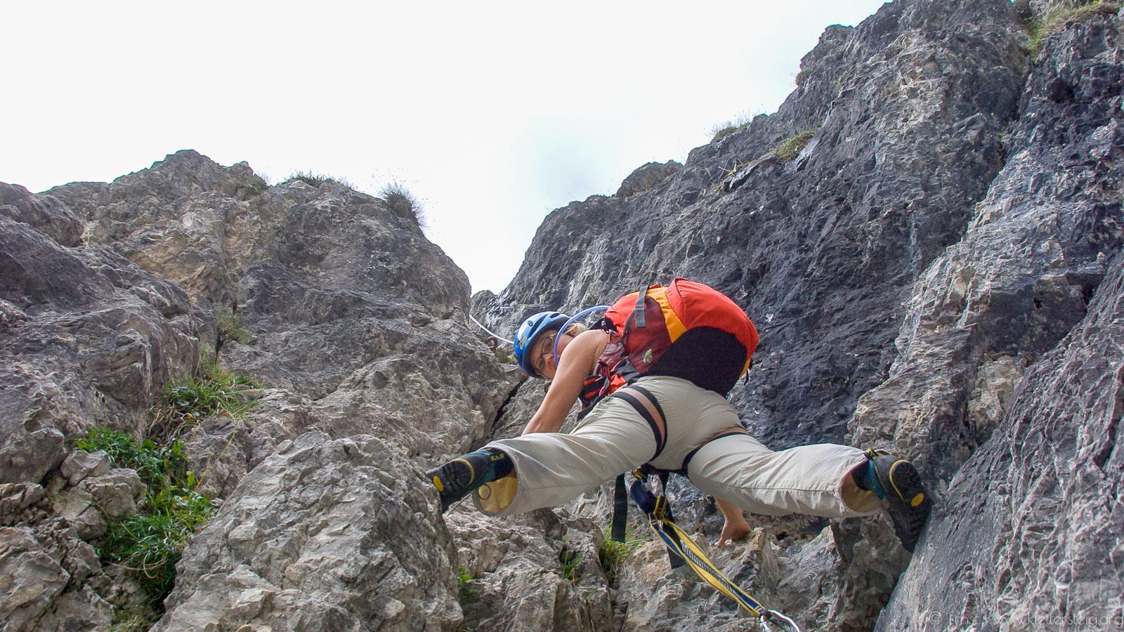 Grosse Ochsenwand - 2700 m - im August 2008 - Schlicker Kletters