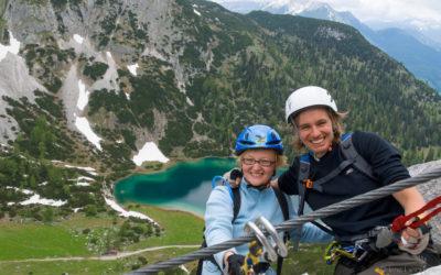 Seeben- und Tajakante Klettersteig | fürs Sommerprogramm