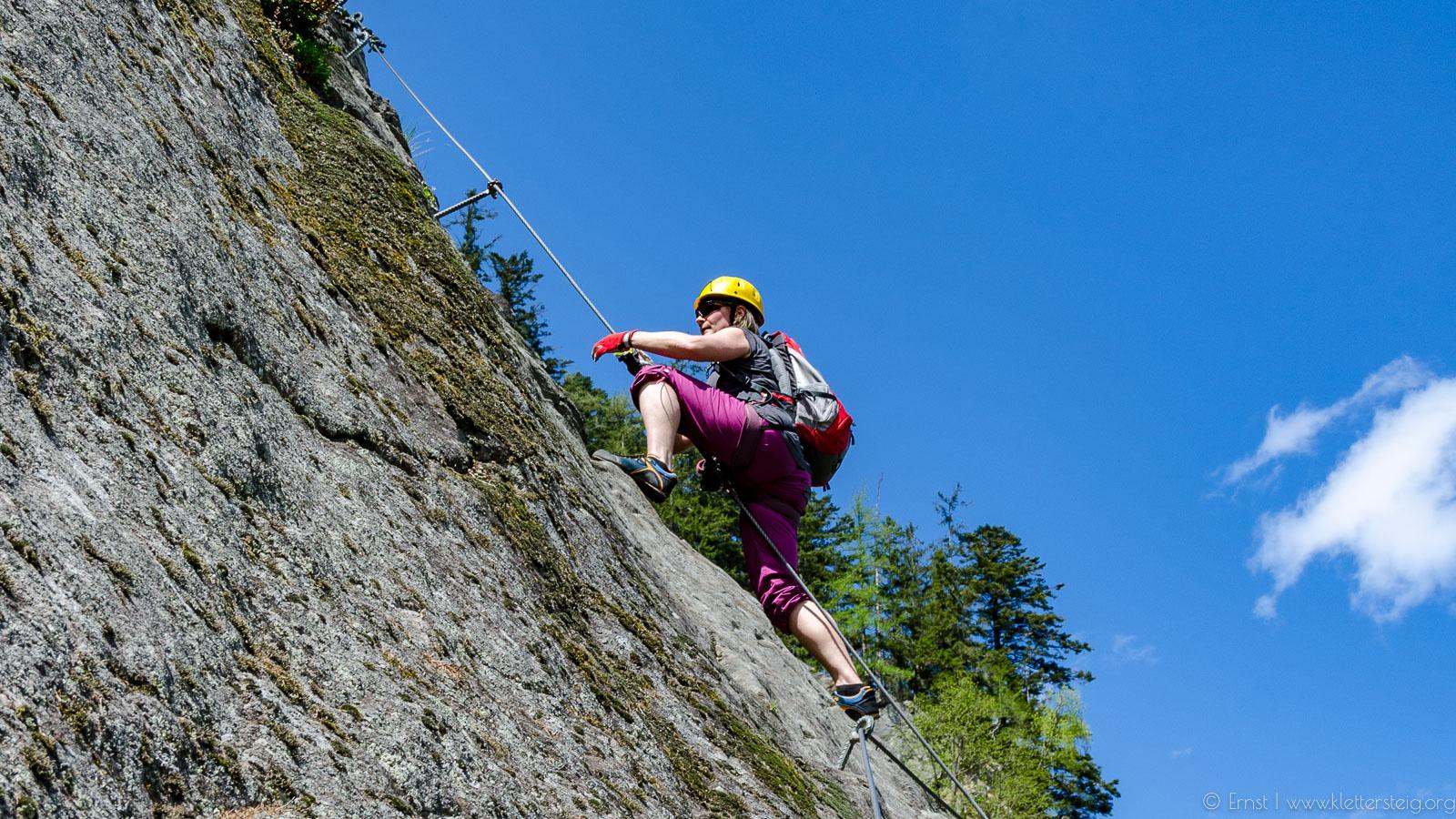 Klettersteig In English : Klettersteig für sportliche einsteiger