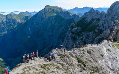 Hindelanger- und 2-Länder Klettersteig im Kleinwalsertal