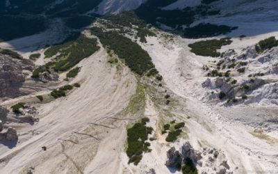 Zustieg Wank Klettersteig saniert
