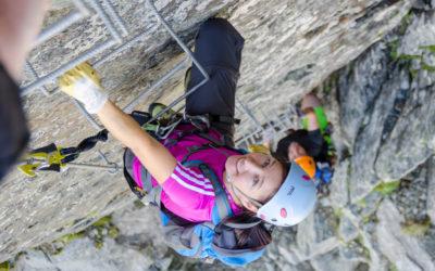 Juli 2020 | Ideale Zeit für den Panorama Klettersteig