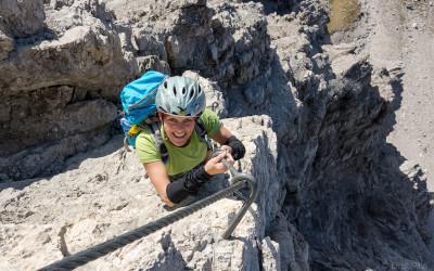 Imster Klettersteig wieder begehbar