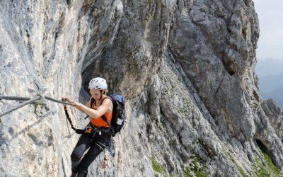 Der ADLER Klettersteig ist wieder begehbar