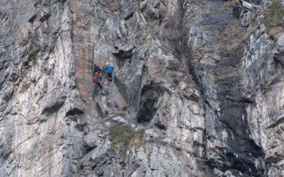 Reinhard Schiestl Klettersteig / Bergungsaktion