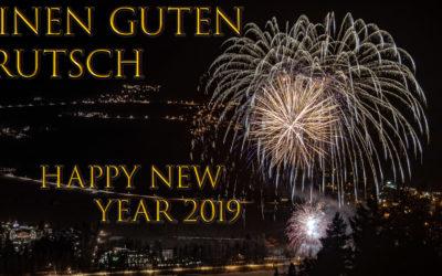 Einen GUTEN RUTSCH ins NEUE JAHR 2019