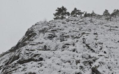 Wintersperre Leite Klettersteig